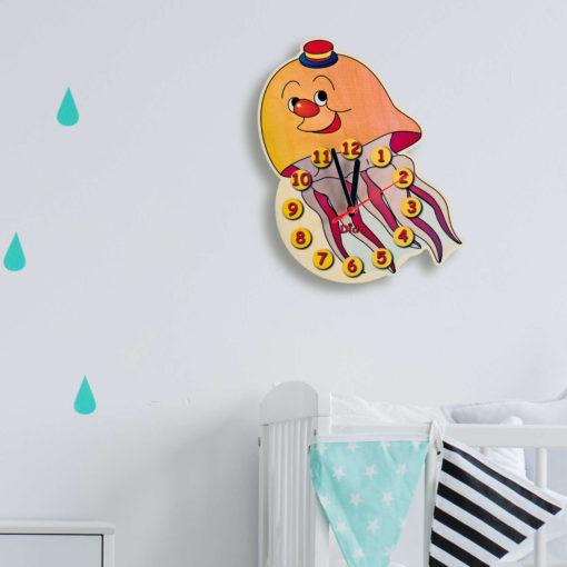 orologio parete medusa