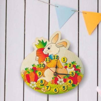 orologio parete coniglio