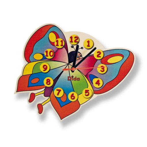 Orologio cameretta dei bambini-orologio farfalla da appendere a muro-Dida