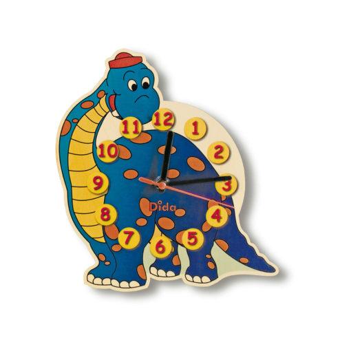 Orologio per la cameretta - Dinosauro orologio da muro per la stanza -Dida