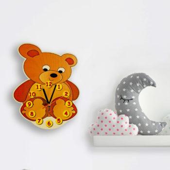 orologio parete orsetto