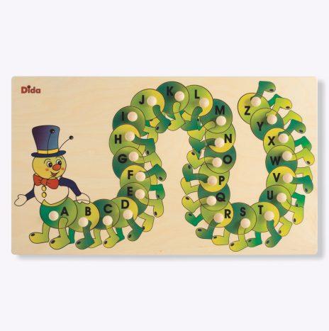 Puzzle Alfabeto Bruco