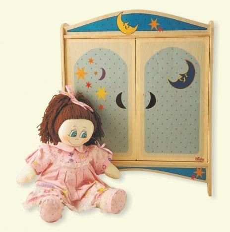 Armadietto bambole Luna