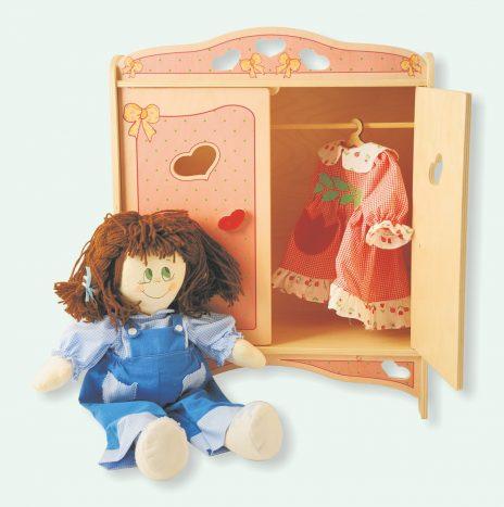 Armadietto bambole Rosa