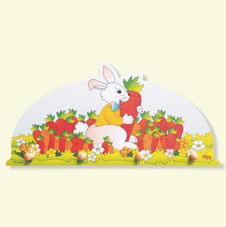 Appendiabiti per bambini – Coniglio