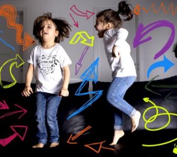 5 giochi per bimbi scatenati che devono stare in casa