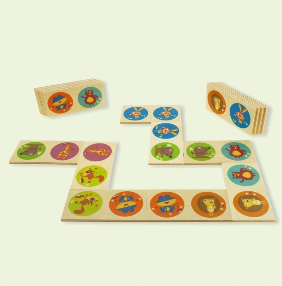 domino-animali-del-bosco