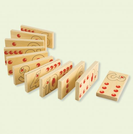 Domino Numeri e Quantità 55 pz