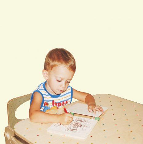 Libro di legno da colorare