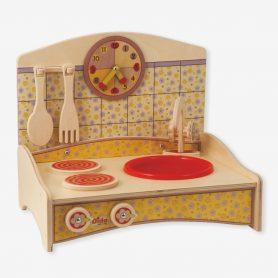 Favole per bambini la cioccolata della calma la bambina - Mini cucina per bambini ...