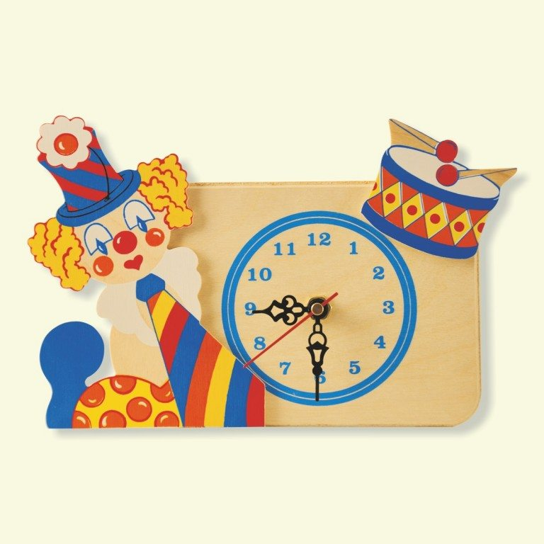 Orologio Clown Tamburo