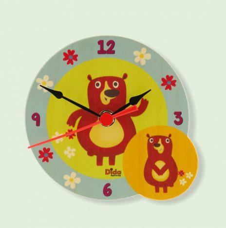 Orologio da tavolo orsi