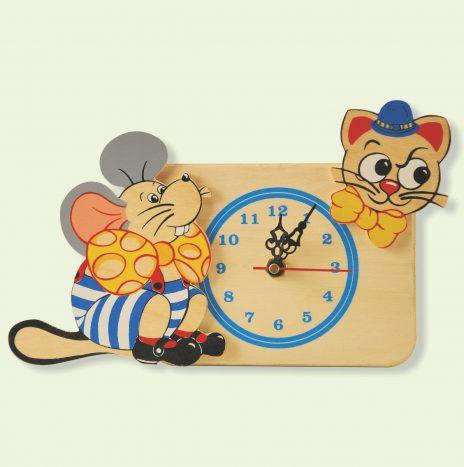 Orologio Topo Gatto