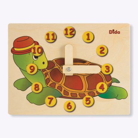 Orologio didattico Tartaruga