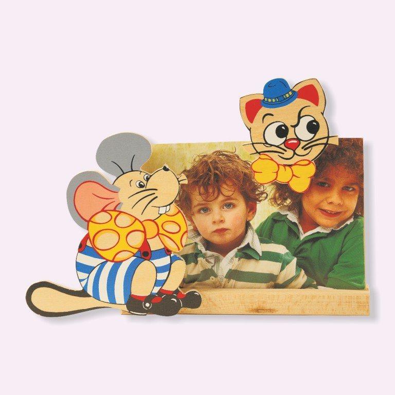 Portafoto Topo Gatto
