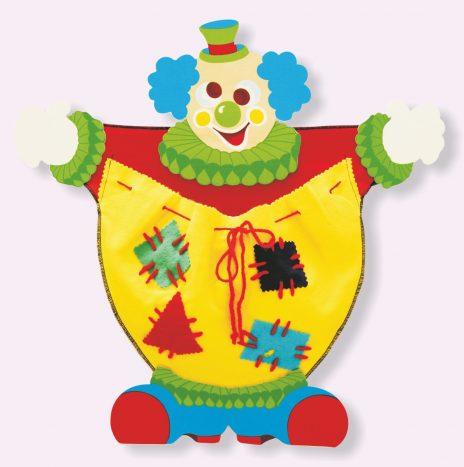 Portapigiama clown
