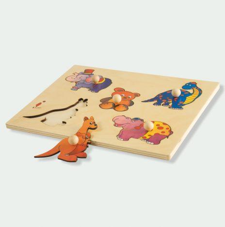 Puzzle Animali Terrestri