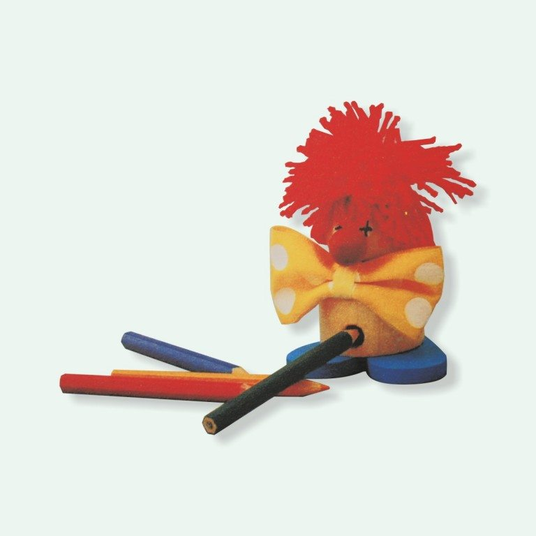 Clown tempera matite