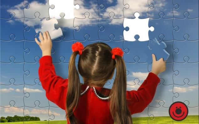 Puzzle di legno per imparare il mondo