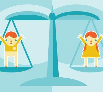 Educare i bambini all'eguaglianza tra i sessi