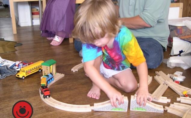Giocare con i bambini, il segreto