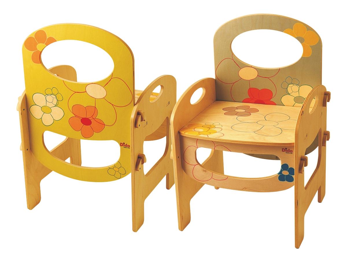 Sedia bambini legno arreda la cameretta ma anche asili e - Sedia dondolo bambini ...