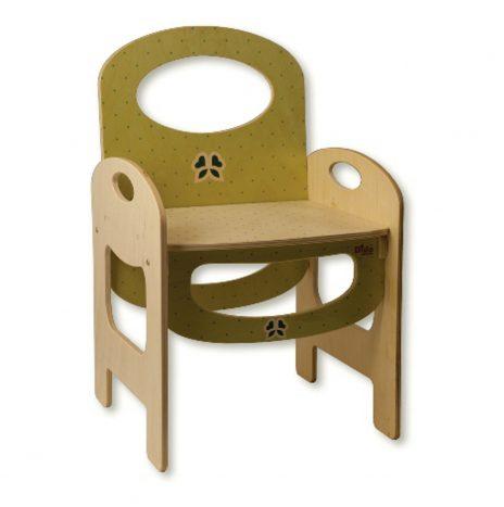 Sedia per bambini in legno – Pois