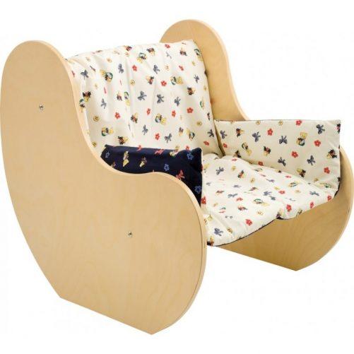 Poltroncina bimbo in legno - Cameretta con mobili a misura di bimbo - Dida