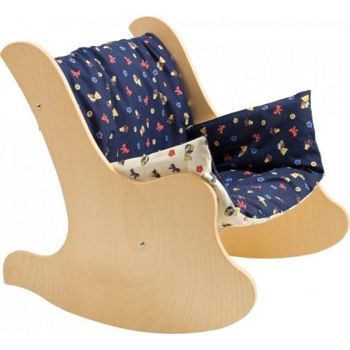 Sedia a dondolo per bambini per arredare la cameretta dei più piccoli -Dida