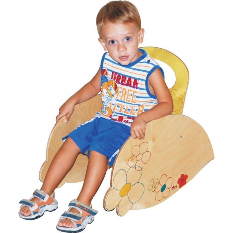 Sedia a dondolo bimbo mobili per bambini in stile - Sedia dondolo bambini ...