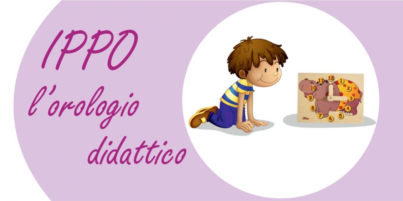 Ippopotamo, orologio didattico - Favole per bambini da leggere - Dida