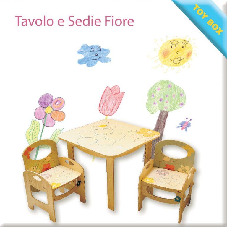 Tavolo e Sedie Fiore