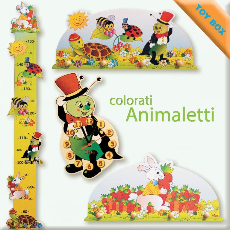 Animaletti colorati