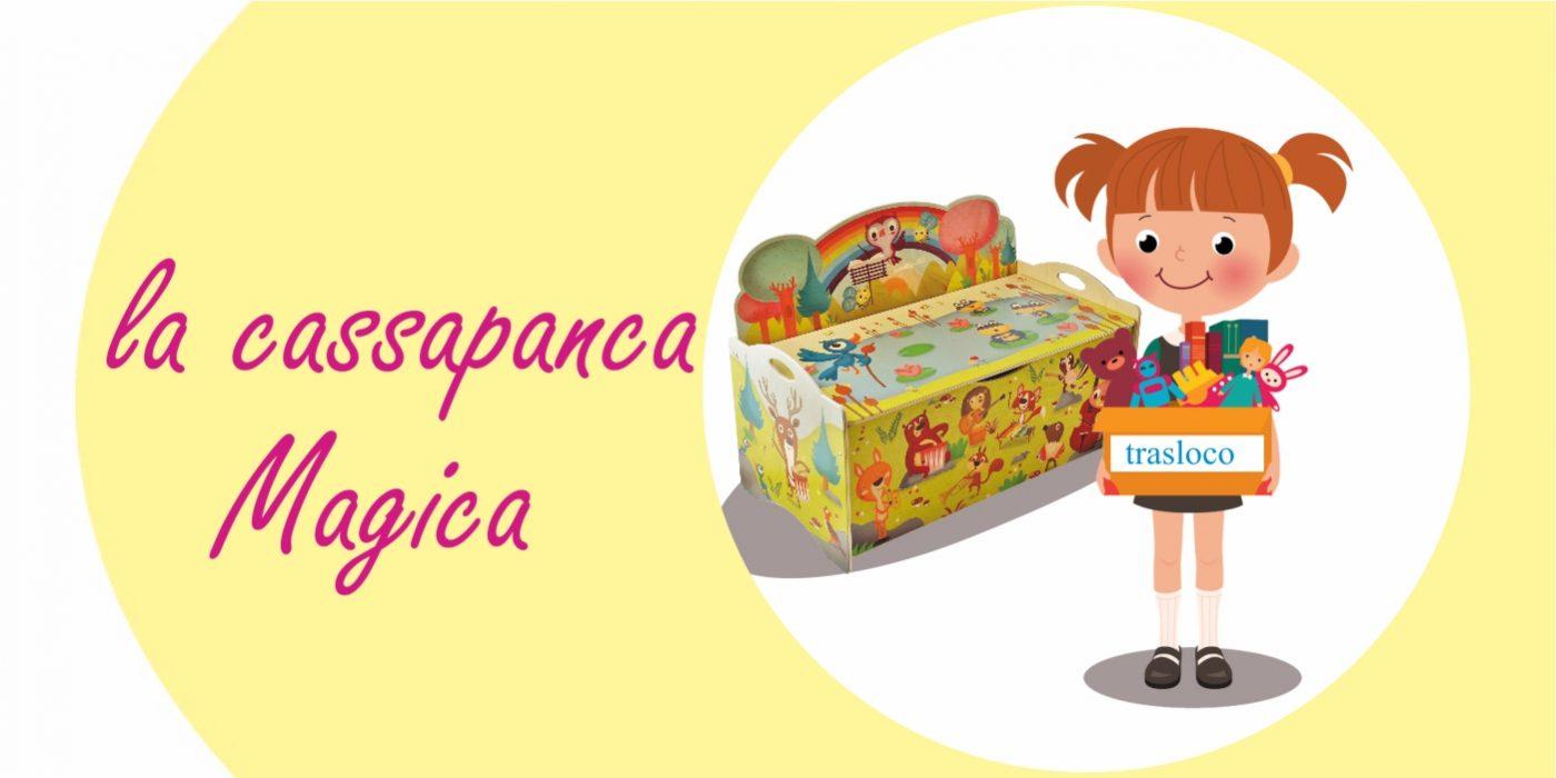 La panca porta giochi - Fiabe per bambini da leggere e leggende - Dida