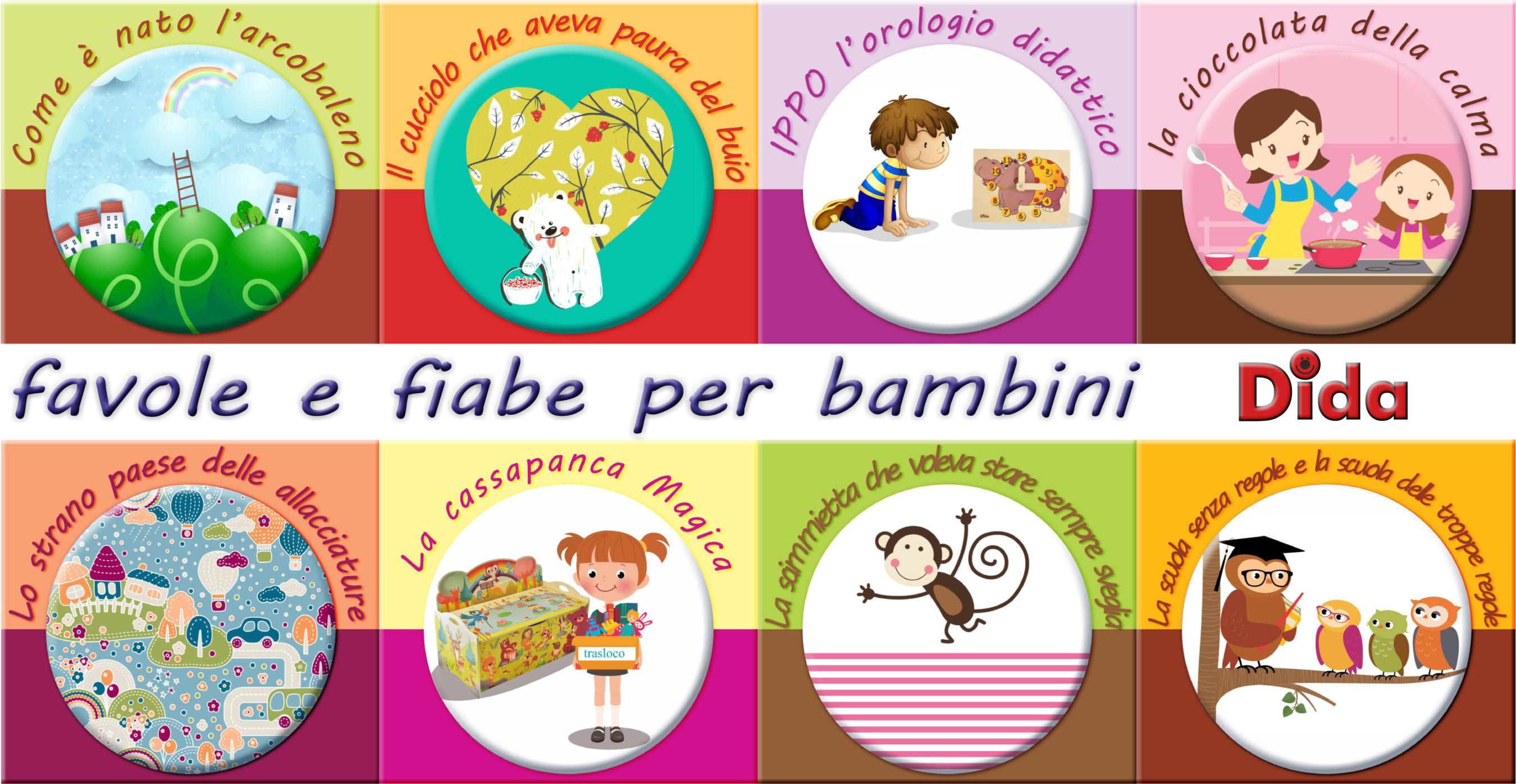 spesso Ebook favole per bambini gratis PDF Favole da stampare Favole da  KA75