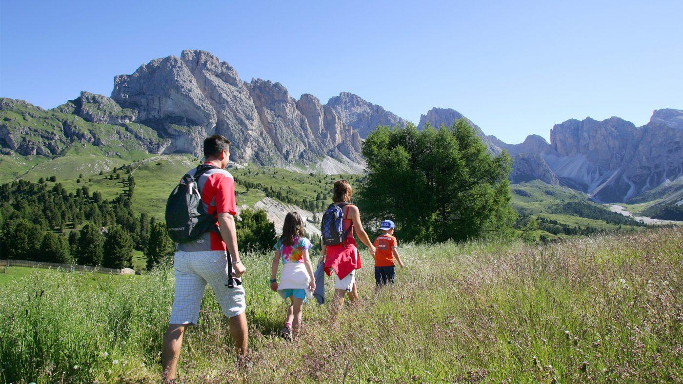 Fare trekking con i bambini