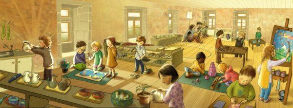 Giochi e mobili per asili nido e scuole dell'infanzia