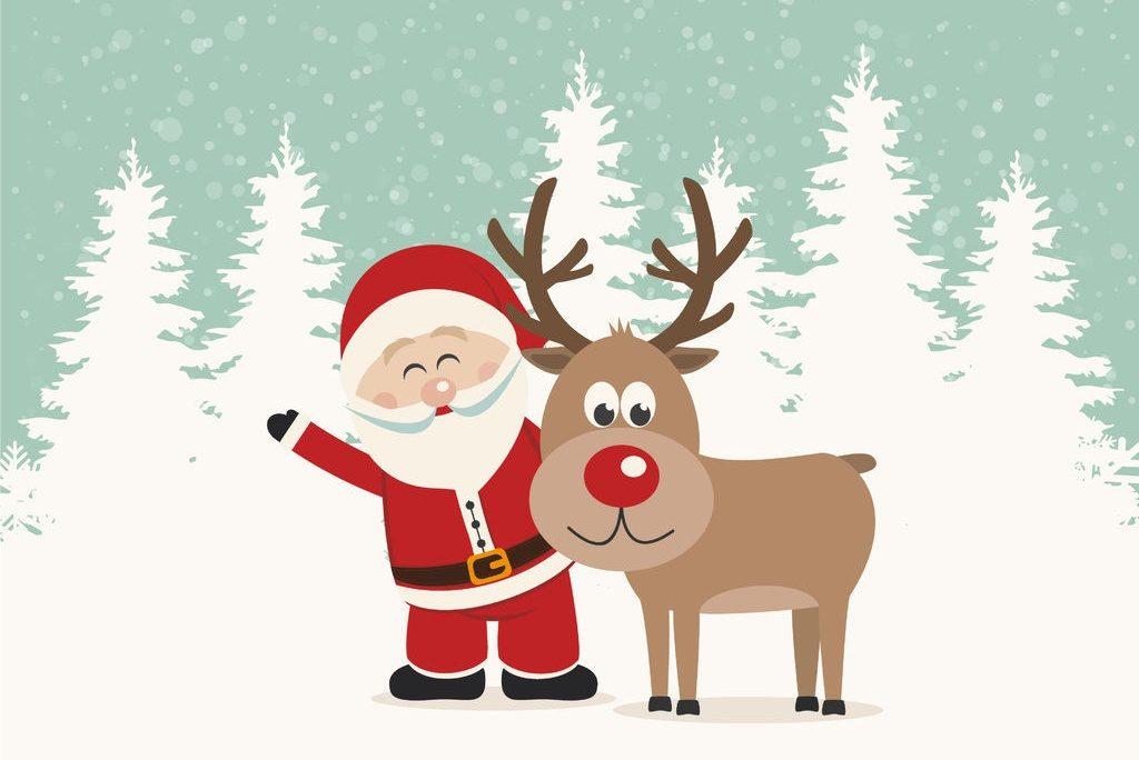 Gli auguri di Babbo Natale