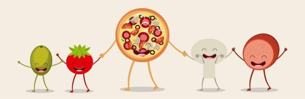 Pizza e condimenti