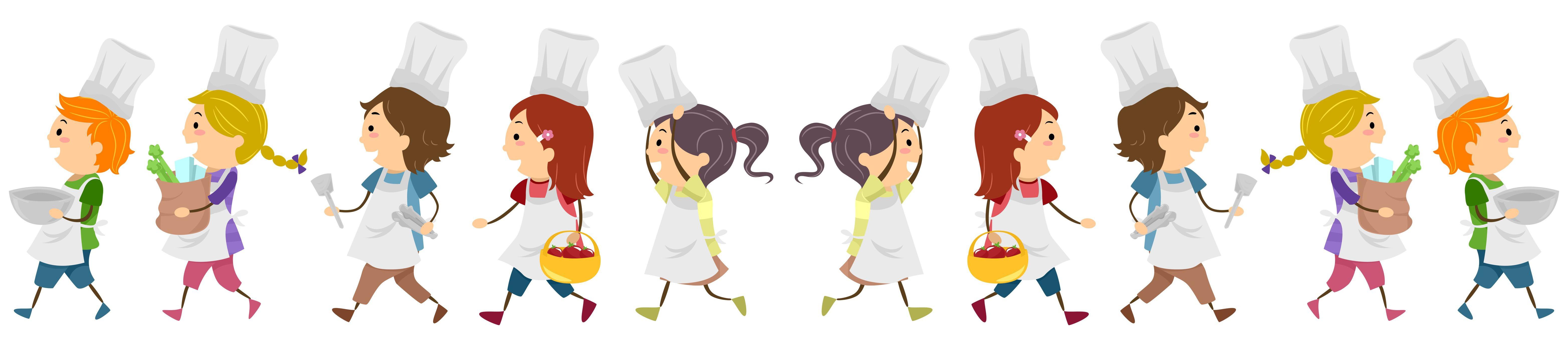 piccoli chef in fila indiana