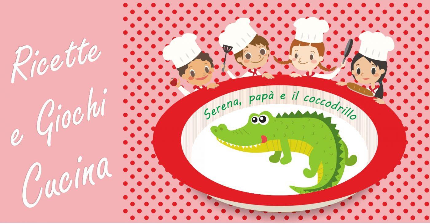 Cucina giocattolo-Serena, papà e il coccodrillo