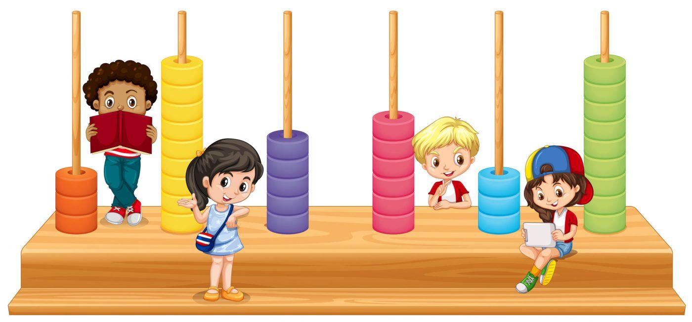 Abaco gioco didattico: utilizzo dell'abaco dagli adulti ai bambini, Montessori