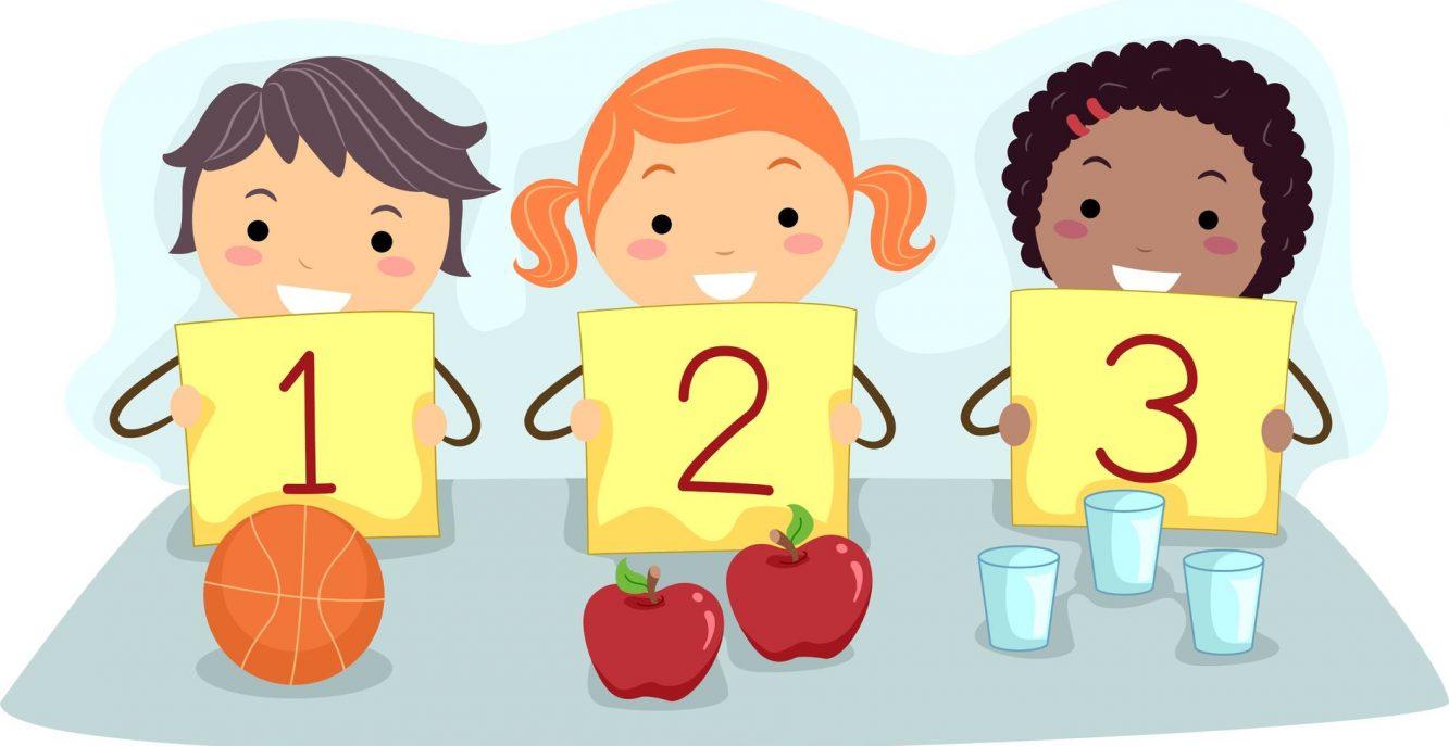 Giochi didattici da fare in casa giochi di matematica e - Colore per numeri per i bambini ...