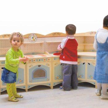 Cucina giococomponibile - giochi di imitazione per bambini - Dida