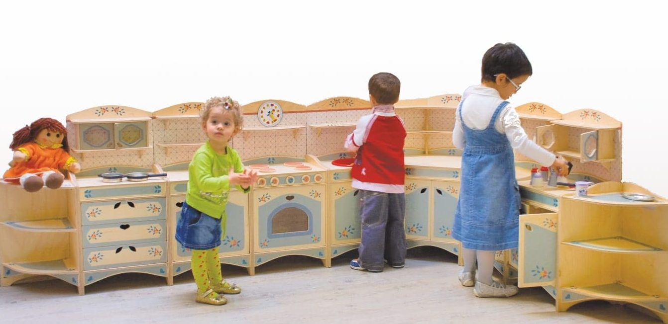 Cucina gioco componibile - giochi di imitazione per bambini - Dida