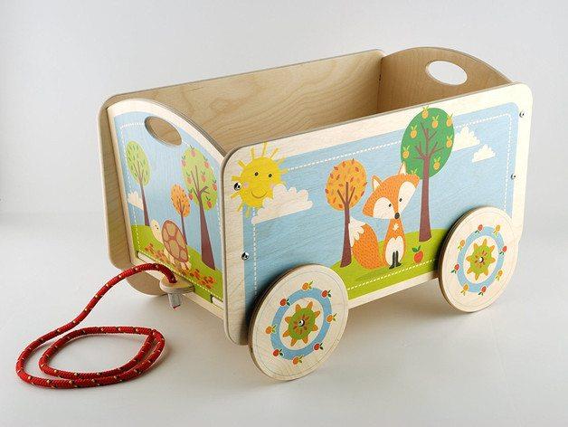 Mobili Portagiochi Per Bambini : Carrello per bambini portagiochi carretto contenitore per la