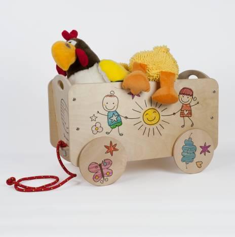 Carretto trainabile per bambini