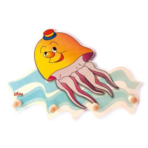 Appendiabiti per bambini cameretta - Una medusa colora e arreda - Dida