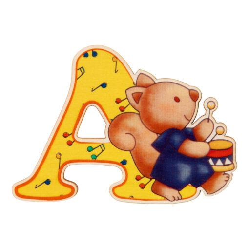 lettera in legno A