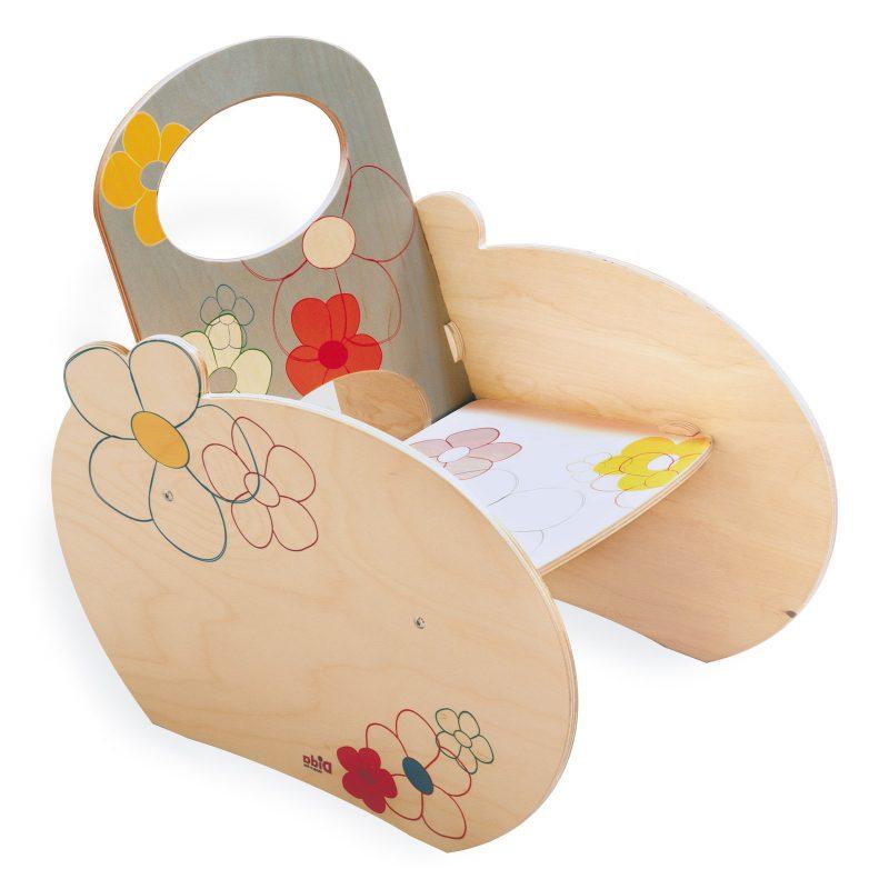 Dida Sedia a dondolo per bambini Giochi in legno